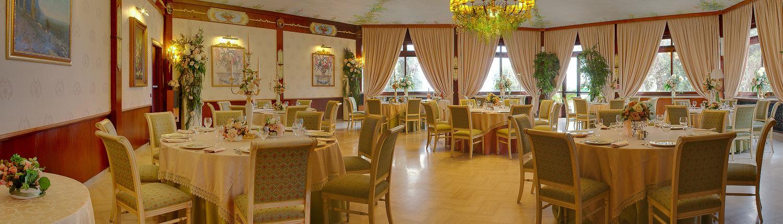 sala delle rose ristorante donna vittoria